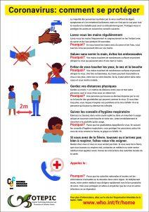 affige protection contre corona virus